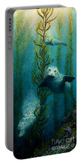Seals Of The Sea Portable Battery Charger by Ruanna Sion Shadd a'Dann'l Yoder