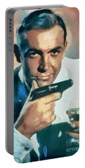 Sean Connery Collection - 1 Portable Battery Charger