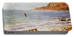 Seascape At Sainte Adresse  Portable Battery Charger