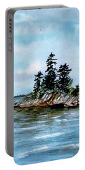 Seascape Casco Bay Maine Portable Battery Charger