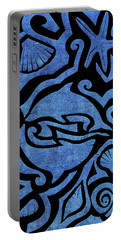 Seascape Cut-out Portable Battery Charger