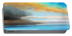 Seascape Painting Portable Battery Charger