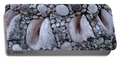 Seashell And Rock Portable Battery Charger