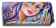 Seashell Reverie Portable Battery Charger