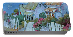 Seaside Cottages Portable Battery Charger