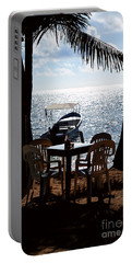 Seaside Dining Portable Battery Charger