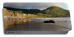 Seaside Reflections - County Kerry - Ireland Portable Battery Charger by Aidan Moran