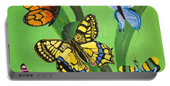 Season Of Butterflies Portable Battery Charger