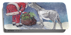 Season's Greetings Portable Battery Charger