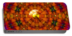 Portable Battery Charger featuring the digital art Seasons by Robert Orinski