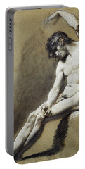 Seated Nude Portable Battery Charger