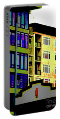 Portable Battery Charger featuring the photograph Seattle Architecture by Yulia Kazansky
