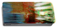 Portable Battery Charger featuring the photograph Seattle By Train by Lori Seaman