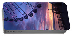 Seattle Ferris Wheel Portable Battery Charger