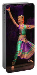 Portable Battery Charger featuring the photograph Seattle Folklife - Indian Dancing 2 by Jeff Burgess