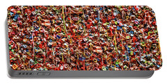 Seattle Gum Wall 2 Portable Battery Charger by Allen Beatty