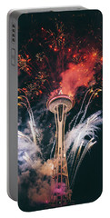 Seattle Portable Battery Charger by Happy Home Artistry