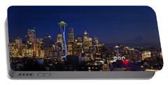 Seattle Seahawks Space Needle Portable Battery Charger