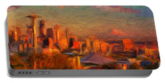 Seattle Sunset 1 Portable Battery Charger
