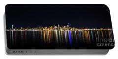 Seattle, Washington Skyline #2 Portable Battery Charger
