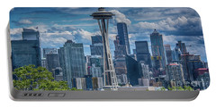Seattle's Urban Landscape Portable Battery Charger