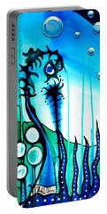 Seaweed - Art By Dora Hathazi Mendes Portable Battery Charger by Dora Hathazi Mendes