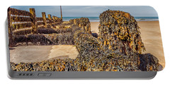 Portable Battery Charger featuring the photograph Seaweed Covered by Nick Bywater