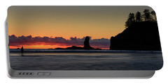 Second Beach Silhouettes Portable Battery Charger