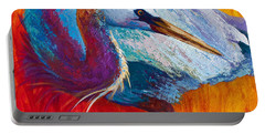 Second Glance - Great Blue Heron Portable Battery Charger