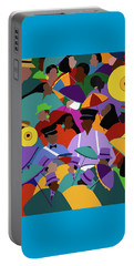Second Line New Orleans Portable Battery Charger