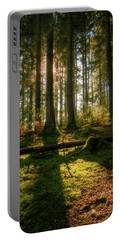 Portable Battery Charger featuring the photograph Secret Forest by Geoff Smith