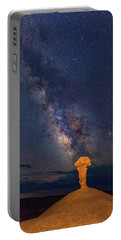Secret Spire And The Milky Way Vertical Portable Battery Charger