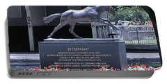Portable Battery Charger featuring the photograph Secretariat by  Newwwman