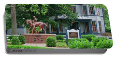 Secretariat Statue At The Kentucky Horse Park Portable Battery Charger