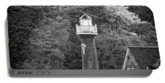 Portable Battery Charger featuring the photograph Sedgely Club - Turtle Rock Lighthouse by Bill Cannon