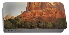 Sedona Afternoon In May Portable Battery Charger