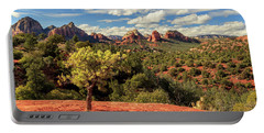 Sedona Afternoon Portable Battery Charger by James Eddy
