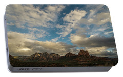 Sedona Arizona Redrock Country Landscape Fx1 Portable Battery Charger by David Haskett