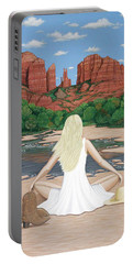 Sedona Breeze  Portable Battery Charger by Lance Headlee