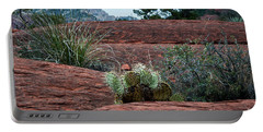 Sedona Cactus Portable Battery Charger by Kirt Tisdale