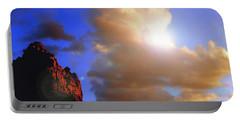 Sedona Mountain Cloud Sun Portable Battery Charger