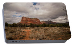 Sedona National Park Arizona Red Rock 2 Portable Battery Charger by David Haskett