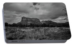 Sedona Red Rock Country Arizona Bnw 0177 Portable Battery Charger by David Haskett