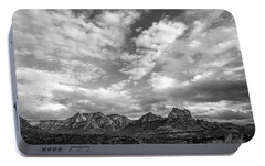 Sedona Red Rock Country Bnw Arizona Landscape 0986 Portable Battery Charger by David Haskett