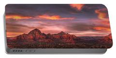 Sedona Sunset Panorama Portable Battery Charger