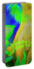 Portable Battery Charger featuring the digital art Seduction by Edmund Nagele
