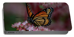 Sedum Butterfly Portable Battery Charger