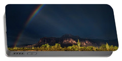 Portable Battery Charger featuring the photograph Seeking That Pot Of Gold  by Saija Lehtonen