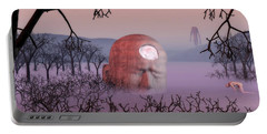 Seeking The Dying Light Of Wisdom Portable Battery Charger by John Alexander