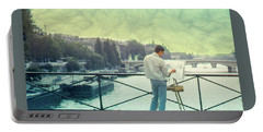 Seine River Inspiration Portable Battery Charger